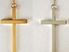 Silver or Gold Latin Pectoral Cross